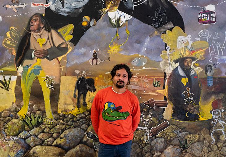 José Luis Ramírez: artista de contrastes que ríe de la risa