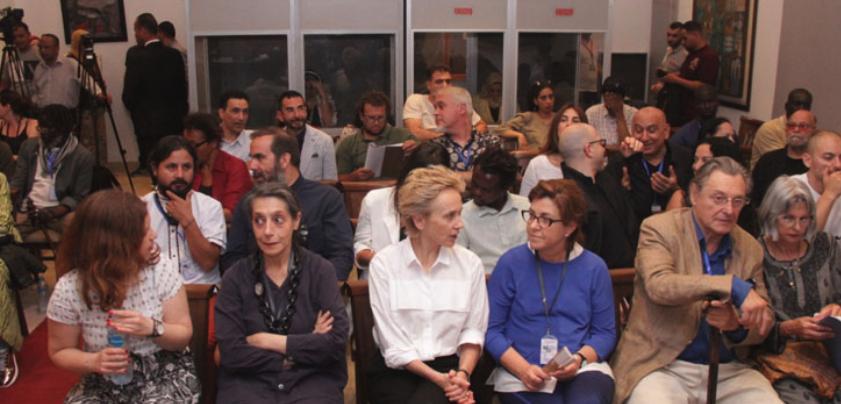 Ministro de Cultura Inaugura la XIII Bienal de El Cairo