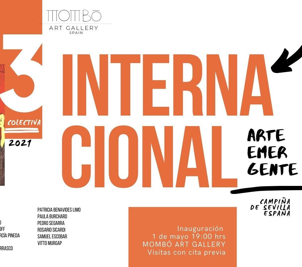 3 Colectiva Internacional Arte Emergente